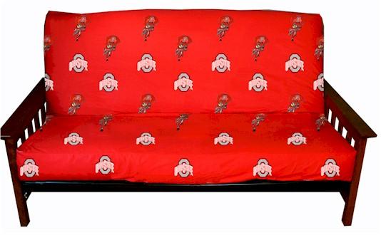 ohio state buckeyes college futon cover     licensed college futon covers   futon covers online  rh   107 170 250 240