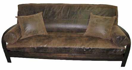 Outback Bark Futon Cover Covers